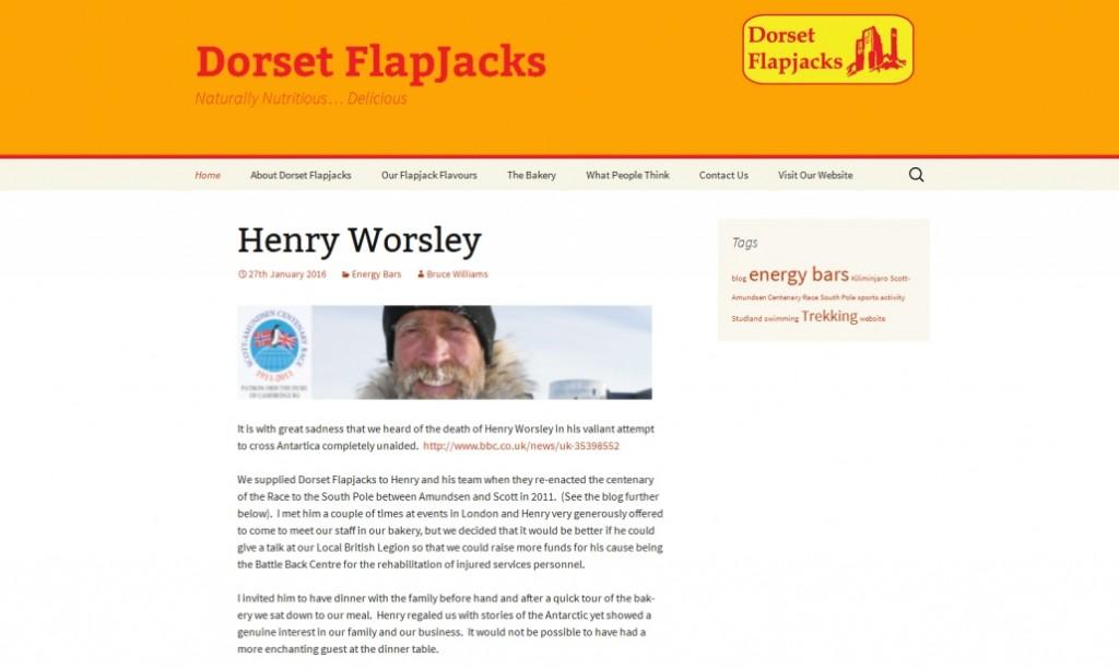 Dorset Flapjacks